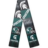 Men's Green Michigan State Spartans Bar Scarf