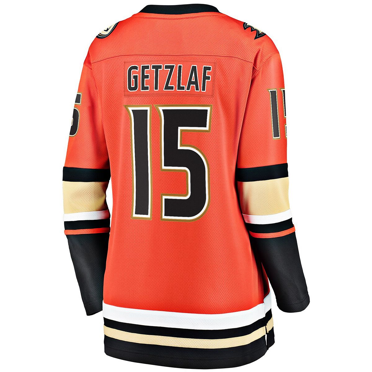 Women's Fanatics Branded Ryan Getzlaf Orange Anaheim Ducks 2019/20 Alternate Premier Breakaway Player Jersey eoUNF