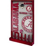 Alabama Crimson Tide Wood Bottle Opener Sign Game