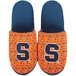 Men's Syracuse Orange Knit Slide Slippers