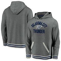 Storm NBA Oklahoma City Thunder Poly Fleece P//O Hoodie 2X//Tall