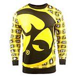 Men's Gold Iowa Hawkeyes Big Logo Sweater