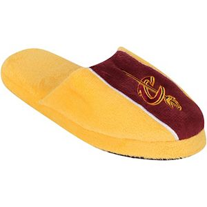 Youth Cleveland Cavaliers Big Logo Stripe Slippers