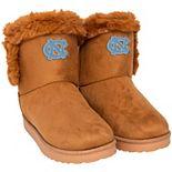 Women's North Carolina Tar Heels Faux Fur Boots