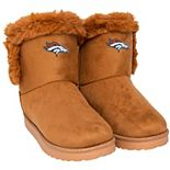 Women's Denver Broncos Fur Boots