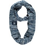 Navy New York Yankees Colorblend Infinity Scarf
