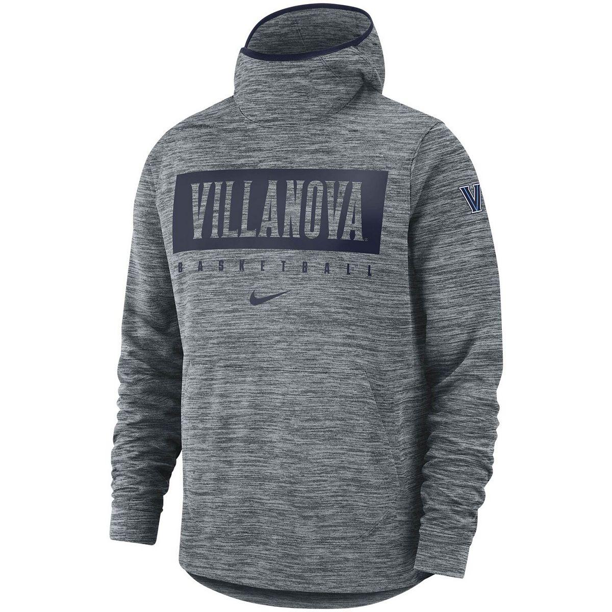 Men's Nike Gray Villanova Wildcats Basketball Spotlight Performance Pullover Hoodie GXqXb