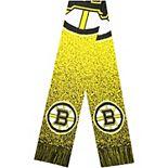 Boston Bruins Big Logo Knit Scarf