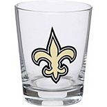 New Orleans Saints 15oz. Double Old Fashioned Glass