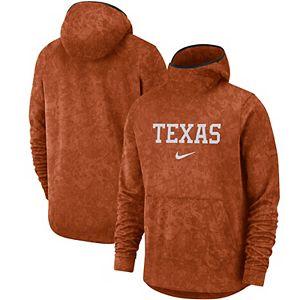 Men's Nike Texas Orange Texas Longhorns Basketball Spotlight Team Logo Performance Pullover Hoodie