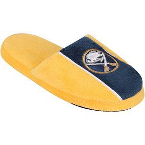 Youth Buffalo Sabres Big Logo Stripe Slippers