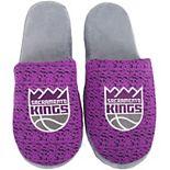Men's Sacramento Kings Knit Slide Slippers