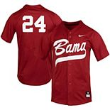 Nike #24 Crimson Alabama Crimson Tide Replica Softball Jersey
