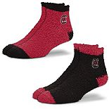 Women's For Bare Feet South Carolina Gamecocks 2-Pack Sleep Soft Socks