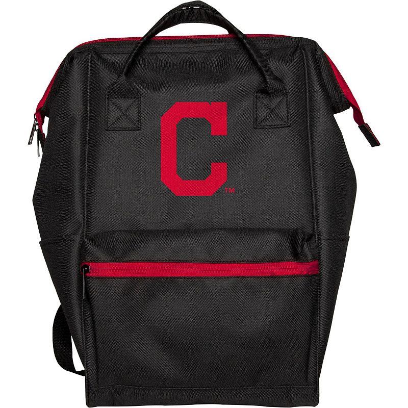 Cleveland Indians Black Collection Color Pop Backpack