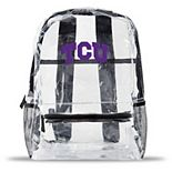 TCU Horned Frogs Team Logo School Clear Bag