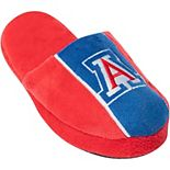 Youth Arizona Wildcats Big Logo Stripe Slippers