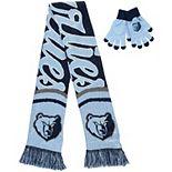 Women's Memphis Grizzlies Glove and Scarf Set