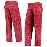Women's Red St. Louis Cardinals Retro Print Sleep Pants