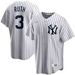 Men's Nike Babe Ruth White New York Yankees Home Cooperstown Collection Player Jersey