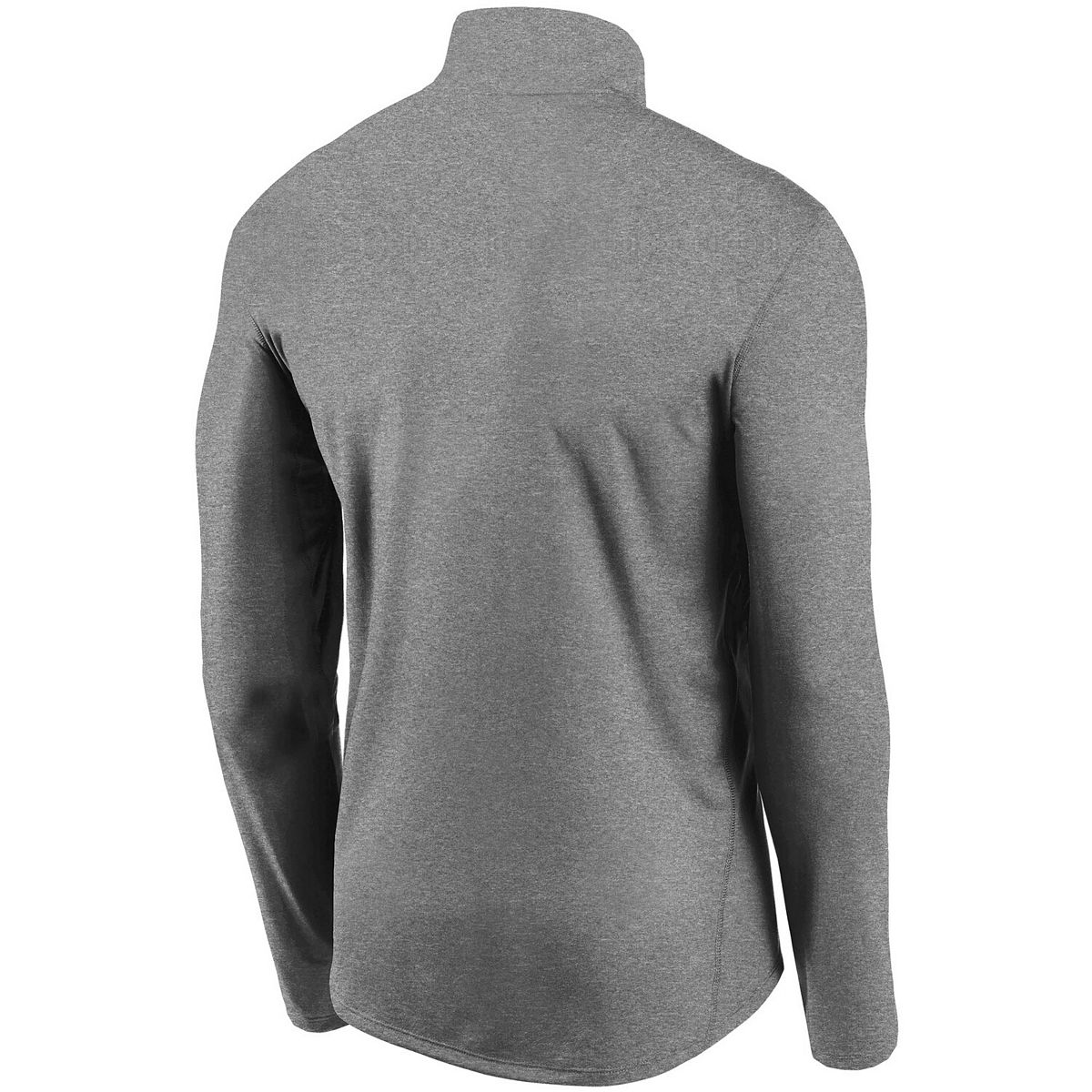 Men's Nike Gray San Diego Padres Team Logo Element Performance Half-Zip Pullover Jacket 8meFt