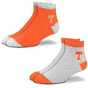 Women's For Bare Feet Tennessee Volunteers 2-Pack Sleep Soft Socks