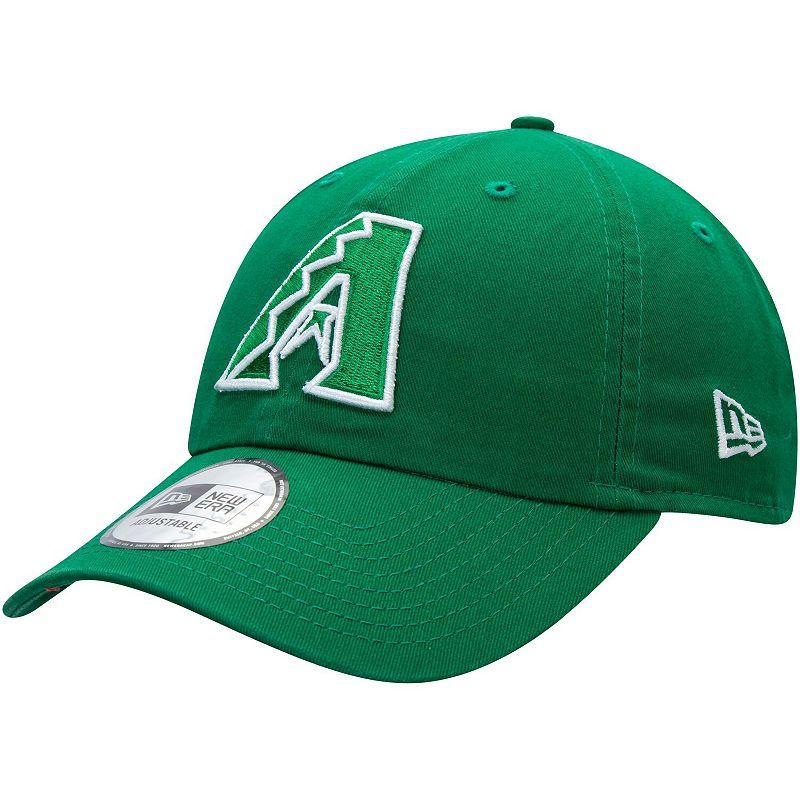 Men's New Era Green Arizona Diamondbacks St. Patrick's Day Casual Classic Adjustable Hat