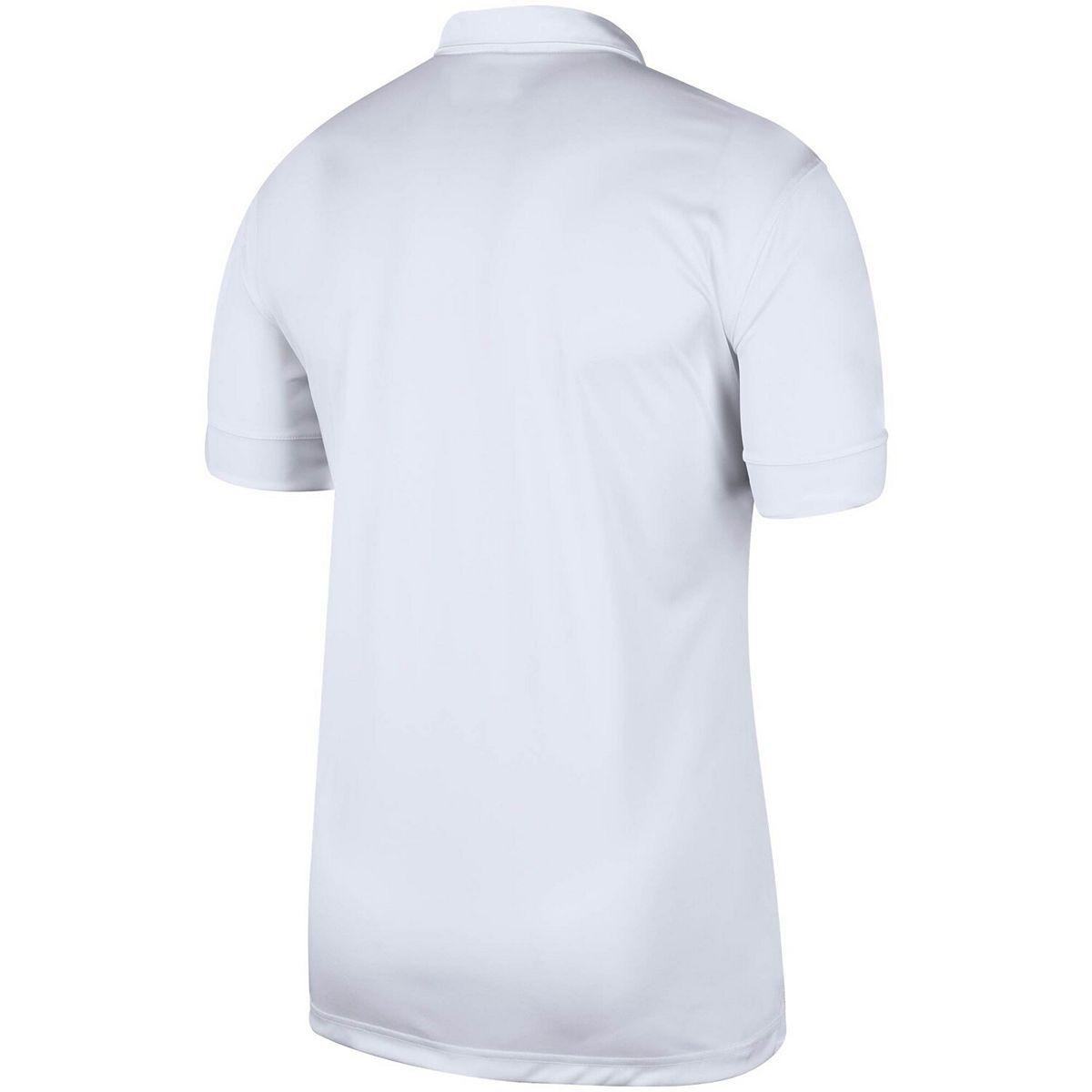 Men's Nike White/Black Arkansas Razorbacks Striped Polo igpYF