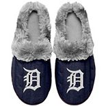 Women's Detroit Tigers Cable Knit Slide Slippers
