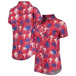 Women's Red Philadelphia Phillies Harmonic Button-Up Shirt