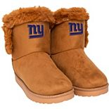 Women's New York Giants Fur Boots
