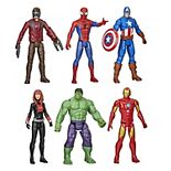 Marvel Avengers Titan Hero Series 6-Pack Action Figure Set by Hasbro