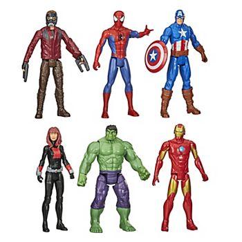 Hasbro 6-Pack Marvel Avengers Titan Hero Series Action Figure Set