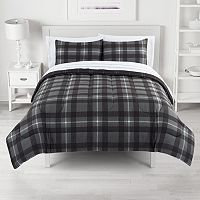 The Big One Plaid Reversible Comforter Set with Sheets Deals