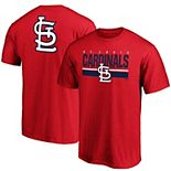 Men's Fanatics Branded Red St. Louis Cardinals Team Logo End Game T-Shirt