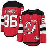 Youth Jack Hughes Red New Jersey Devils Home Player Replica Jersey