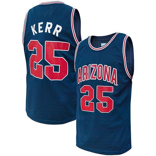 Men's Original Retro Brand Steve Kerr Navy Arizona Wildcats Alumni Basketball Jersey