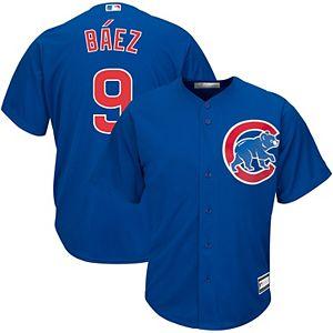 Men's Javier Baez Royal Chicago Cubs Big & Tall Replica Player Jersey