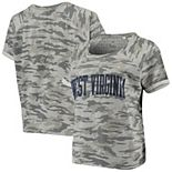 Women's Pressbox Camo West Virginia Mountaineers Splash French Terry T-Shirt