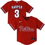 Toddler Nike Bryce Harper Red Philadelphia Phillies Alternate 2020 Replica Player Jersey