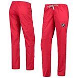 Women's Red Georgia Bulldogs Straight Leg Cargo Pants