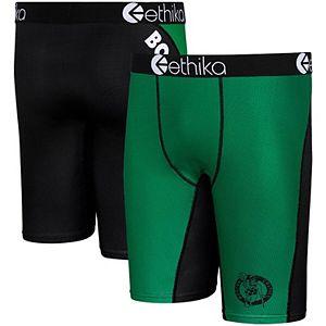 Youth Ethika for Fanatics Kelly Green Boston Celtics Micromesh Boxer Briefs