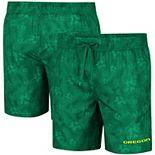 Men's Colosseum Green Oregon Ducks Kavai Swim Trunks