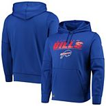 Men's New Era Royal Buffalo Bills Combine Stated Pullover Hoodie