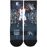 Youth Strideline Zion Williamson New Orleans Pelicans Superhero Socks