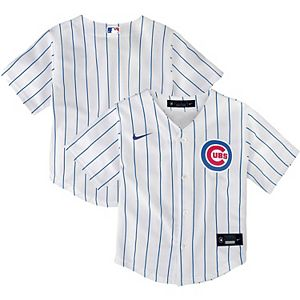 Toddler Nike White Chicago Cubs Home 2020 Replica Player Jersey
