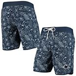 Men's G-III Sports by Carl Banks Navy Penn State Nittany Lions Wave Volley Swim Shorts