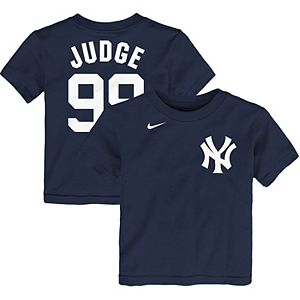 Toddler Nike Aaron Judge Navy New York Yankees Player Name & Number T-Shirt