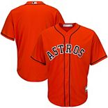 Men's Orange Houston Astros Big & Tall Cooperstown Collection Replica Team Jersey