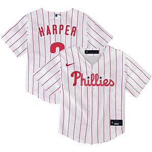 Toddler Nike Bryce Harper White Philadelphia Phillies Home 2020 Replica Player Jersey